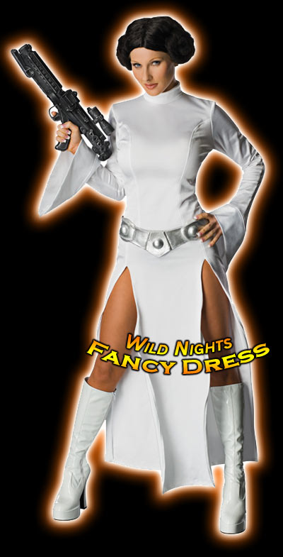 Fancy Dress Costume Star Wars Princess Leia