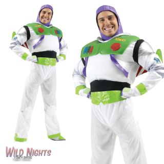 Disney Disguise Toy Story Mens Buzz Lightyear Deluxe Adult