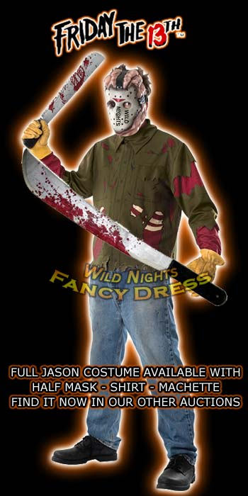 Friday The 13th Jason Voorhees Blood Stained Machete